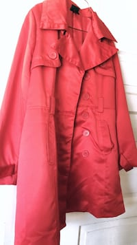 Red Torrid button-up coat Toronto, M6H 3Z9