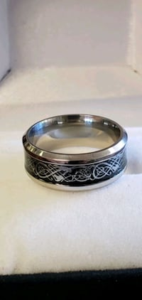 Stainless Steel, Dragon Pattern/Style Ring  Portland, 97215