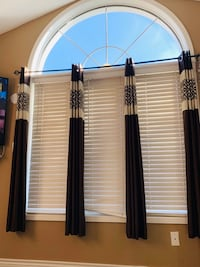 Brand new Windows-curtain in Brown and Gray 80 inches length colour Brampton, L6Y 5C4