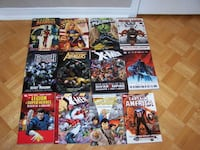 22 large MARVEL & DC graphic comics - 7 are hardcovers Vaughan
