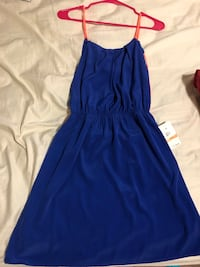 women's blue spaghetti strap dress Silver Spring, 20904