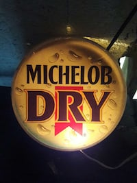 Michelob dry signage