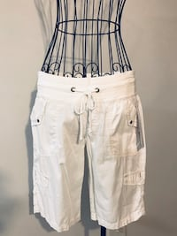 Women's white cargo shorts Alexandria, 22315