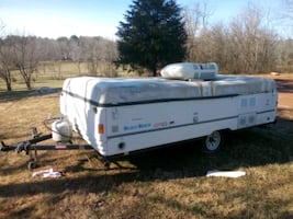 Free 1996 Coleman pop up camper title in hand