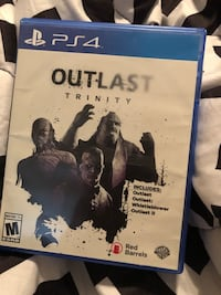 Outlast Trinity ps4 game