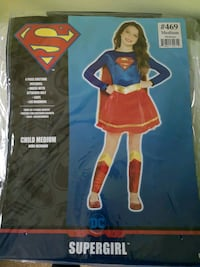 Girls Supergirl costume London, N5Z 3A8