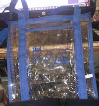 Clear Plastic Tote Bag Transparent