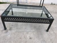 Coffee Table - Cast Aluminum Commercial Grade River Grove, 60171