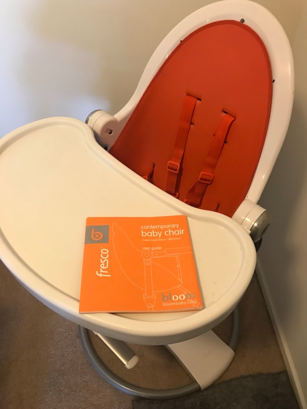 Baby to toddler booster chair