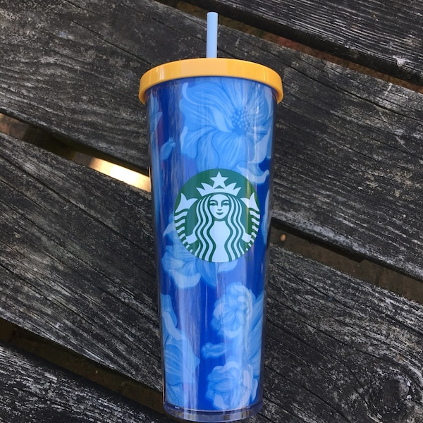 Blue Starbucks Tumbler-NEW 0