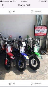 Dirt bike for all ages  Odessa, 79762