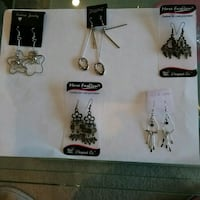5 earring sets all for $ 5