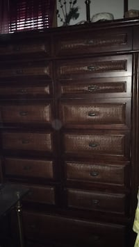 Casablanca/Bombay Style tall boy 15 Drawer Chest if Drawers..