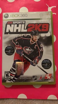 NHL 2K9 xbox 360 game  Markham, L6B