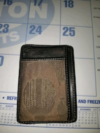 Men's small coach wallet