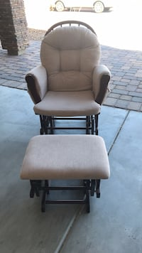 Rocking chair with ottoman Henderson, 89012