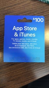 iTunes gift card Vaughan, L4L