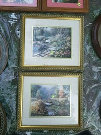 two brown wooden framed painting of trees Newport News, 23606