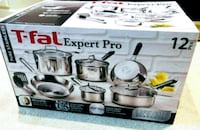 Brand new unopened  T-Fal Expert Pro 12pc Stainless Steel Cookware Set