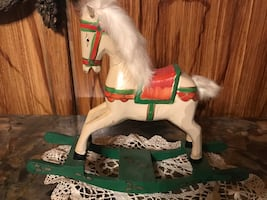 Rocking horse for Christmas decorations