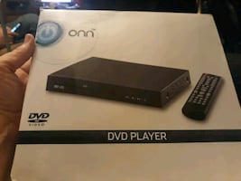 DVD player with remote like new
