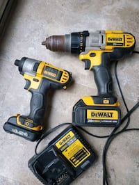 Dewalt 20V hammer drill and impact 12V London, N6C 6A3