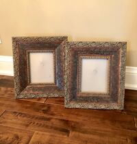 2 Large Wood Picture Frames. 16x18 Vaughan