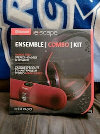BRAND NEW ESCAPE BLUETOOTH WIRELESS HEADPHONES AND Montreal, H9H 1E3