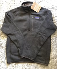 NEW Patagonia Men's Brown 1/4 Zip Better Sweater Pullover Size XS Chicago, 60611