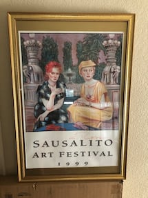 Colleen Ross Poster Sausalito Art Gallery