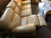 Reclining Leather Couch Lincoln, 68508