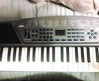 black and white electronic keyboard Crestwood, 60445