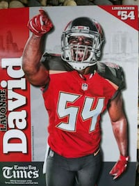 2017 TAMPA BAY BUCCANEERS PHOTO CARDS Gulfport, 33707
