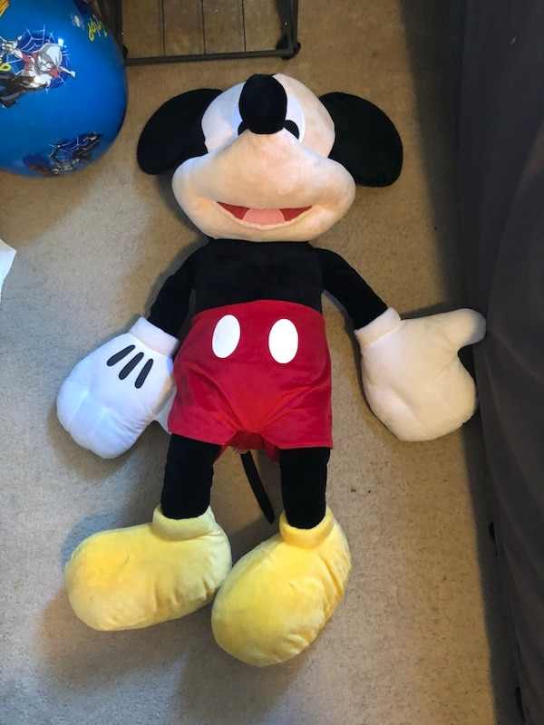 Used Mickey Mouse 4 Foot Plush Toy For Sale In North Las Vegas Letgo