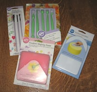 WILTON FONDANT TOOLS-BRAND NEW IN THE PACKAGES! FAYETTEVILLE