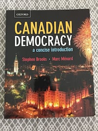 Canadian Democracy book by Brooks and Menard