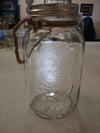 24 oz mason jars with twine handle