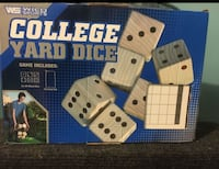 College Dice game Herndon, 20170