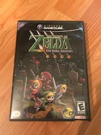 Legend of Zelda Four Swords Adventures Gamecube! NO MANUAL Châteauguay, J6J