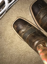 brown leather cowboy boots San Angelo, 76903