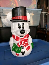 Mickey plastic snowman container Satellite Beach, 32937