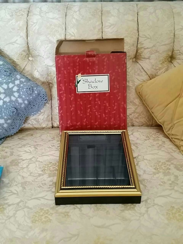 a24b8cedf Used brass and black wooden box for sale in Sacramento - letgo
