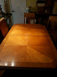 Maple wood with carved edge table Brockton, 02302