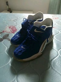 pair of blue-and-white Nike basketball shoes Chesapeake, 23325