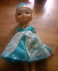 blue and white dressed doll 473 km
