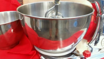 Stand up mixer.