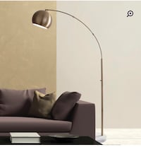Brand New Mid-Century Style Arched Floor Lamp (Brushed Steel) Toronto, M4E 2X8