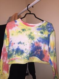 White, blue, and yellow floral sweater Grande Prairie, T8V
