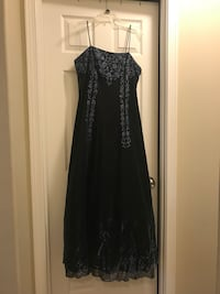 Onyx Nite size 12 formal dress