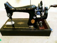 black Singer treadle sewing machine. Made in 1941 non electric. Ottawa, K2G 3Y6